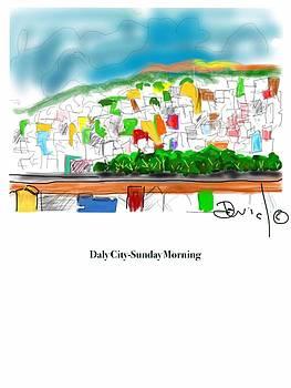 Daly City-Sunday Morning by David Martin