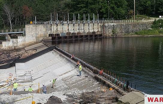 Mike Breau - Dam Repairs  along the Androscoggin River