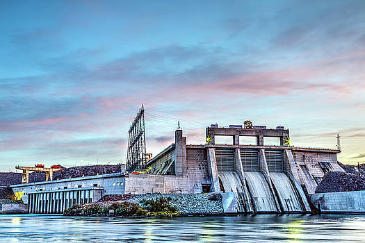 Dam Sunrise by James Marvin Phelps