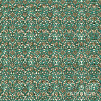 Damask Pattern-JP-A by Jean Plout