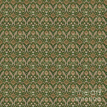 Damask Pattern-JP-B by Jean Plout