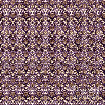 Damask Pattern-JP-C by Jean Plout