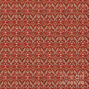 Damask Pattern-JP-D by Jean Plout