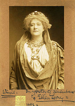 Dame Ellen Terry as Volumnia in Coriolanus by Sarah Vernon