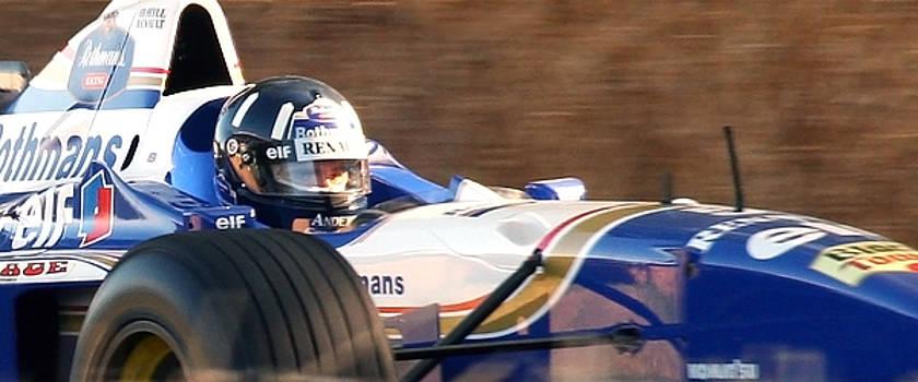 Damon Hill FW18 by Drew McAvoy