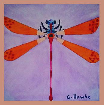 Damselfly by Christopher Hawke