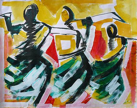 Dance Class by Abin Raj