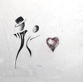 Dance of Lovers by Germaine Fine Art