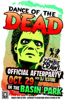 Jeff Danos - Dance of the Dead 2016 Poster