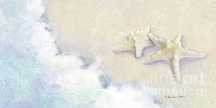 Dance of the Sea - Knobby Starfish Impressionstic by Audrey Jeanne Roberts