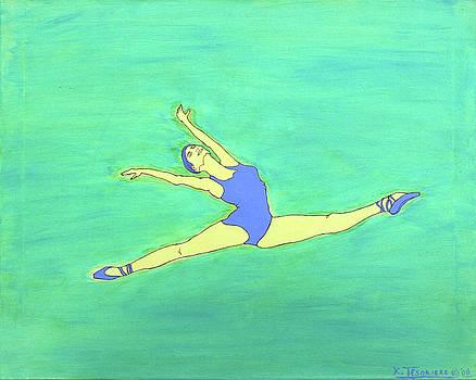 Soaring Dancer by Ken Tesoriere by Lyric Artists