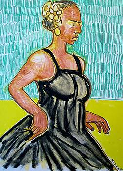Dancer In A Wide Dress by Clarence Major