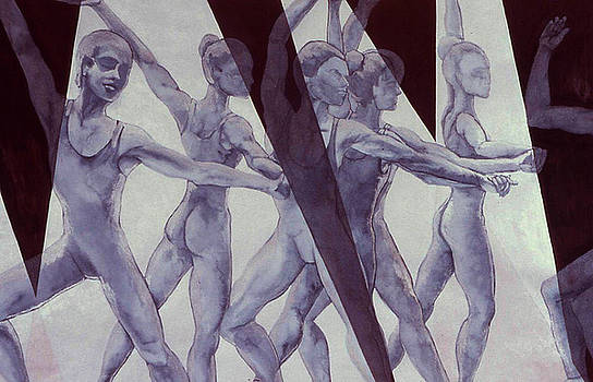 Dancers - 11 by Caron Sloan Zuger