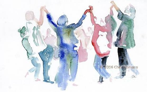 Dancers by Cher Clemans