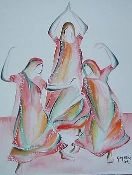 Dancers by Gayatri Manchanda