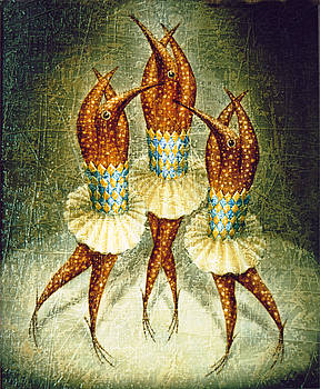 Dancers by Lolita Bronzini