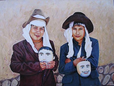 Dancers of Balam Kiej by Judith Zur