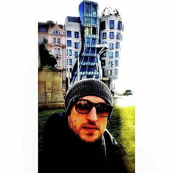 Dancin House #prague #czechrepublic #me by Marco Capo