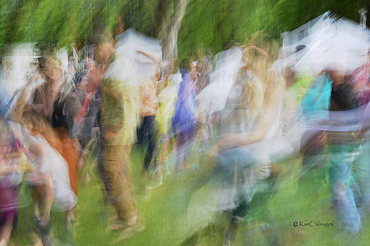 Dancing at the Music Festival by Kae Cheatham