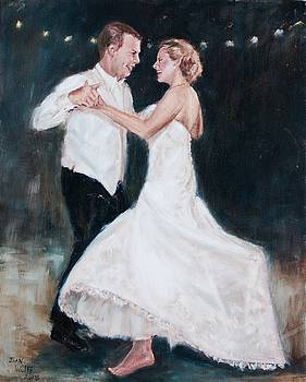 Dancing At Their Wedding by Joan Wulff