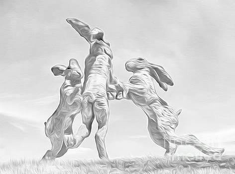 Dancing Bunnies by Brian Mollenkopf