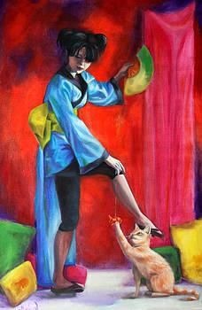 Dancing Cat by Maryn Crawford