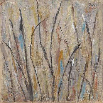 Dancing Cattails I by Trish Toro