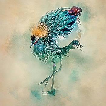 Dancing Crane by Brian Tarr