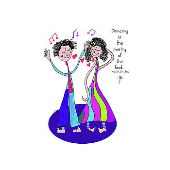 Dancing Feet by Dora Ficher