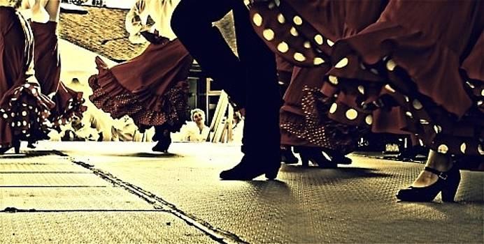 Dancing Feet by Victoria Serrano