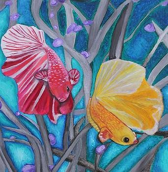 Dancing Fish by Stormy Miller