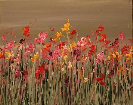 Dancing Flowers by Joanna Deritis