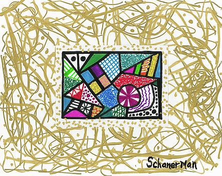Dancing Geometrics by Susan Schanerman