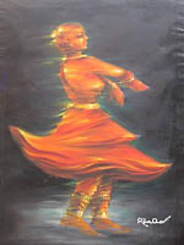 Dancing Girl by Shakthi Dass