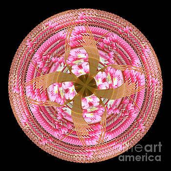 Dancing Hearts Mandala by Karen Jordan Allen