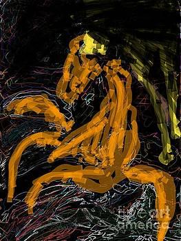 Dancing horse by Subrata Bose
