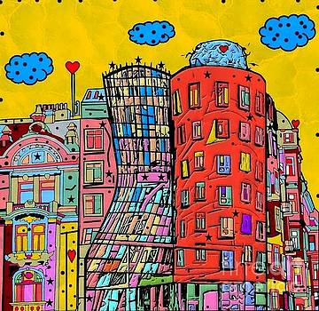 Dancing House Prague by Nico Bielow by Nico Bielow