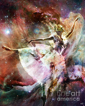 Dancing In Stardust by Kenneth Rougeau