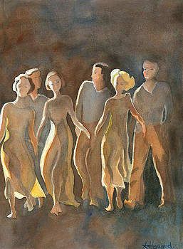 Dancing in the Moonlight by Anne Havard