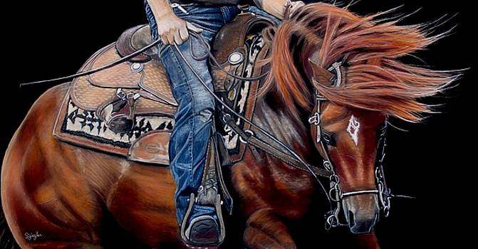 Dancing in the Reins by Sue Ziegler