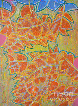 Dancing Leaves by Adel Nemeth