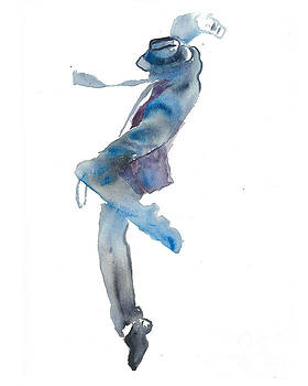 Dancing man by Cher Clemans