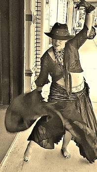 Dancing on the Sidewalk by VLee Watson
