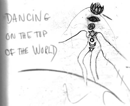 Dancing on the Top of the World by Shakti Brien