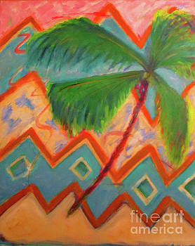 Dancing Palm by Karen Francis