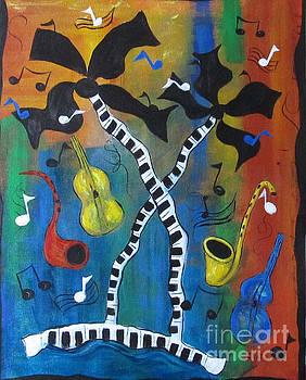 Dancing Palms by Karen Day-Vath