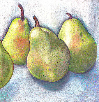 Dancing Pears by Barbara Goodsitt