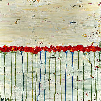 Dancing Poppies by Diane Dean