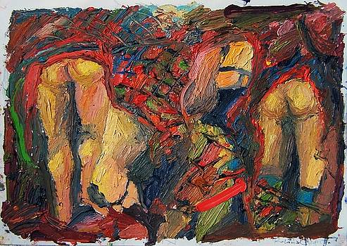 Dancing Scotsmen  by Roland Kay