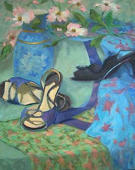 Dancing Shoes and Dogwoods by Margaret Aycock